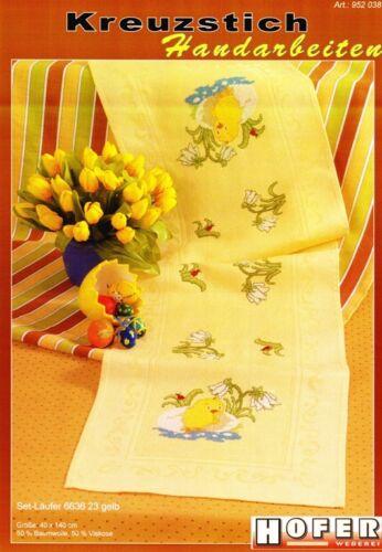 Stick modèle DIN A 4 Motif pâques printemps