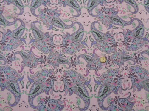 """robe tissu /""""ammurianum/"""" foulards au mètre Italien mousseline soie 100/%"""
