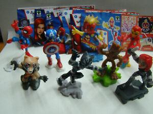 U-Ei-Marvel-Heroes-NEU-VV396-VV403-Komplett-mit-allen-BPZ