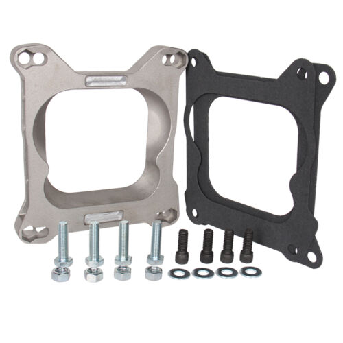 Carburetor Adapter 4bbl To 4bbl Holley AFB Carter Edelbrock Quadrajet Manifold