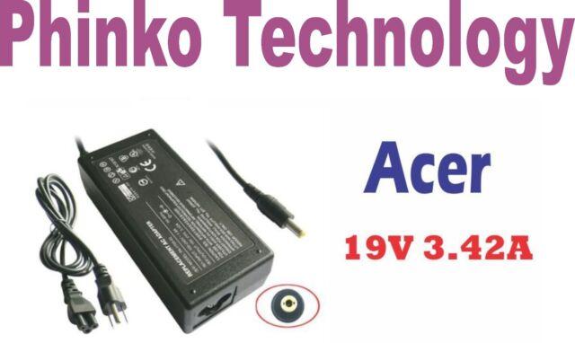 NEW Adapter Charger ACER eMachines E625 D620 E620 E510 E525 E627 E630 E720 E725