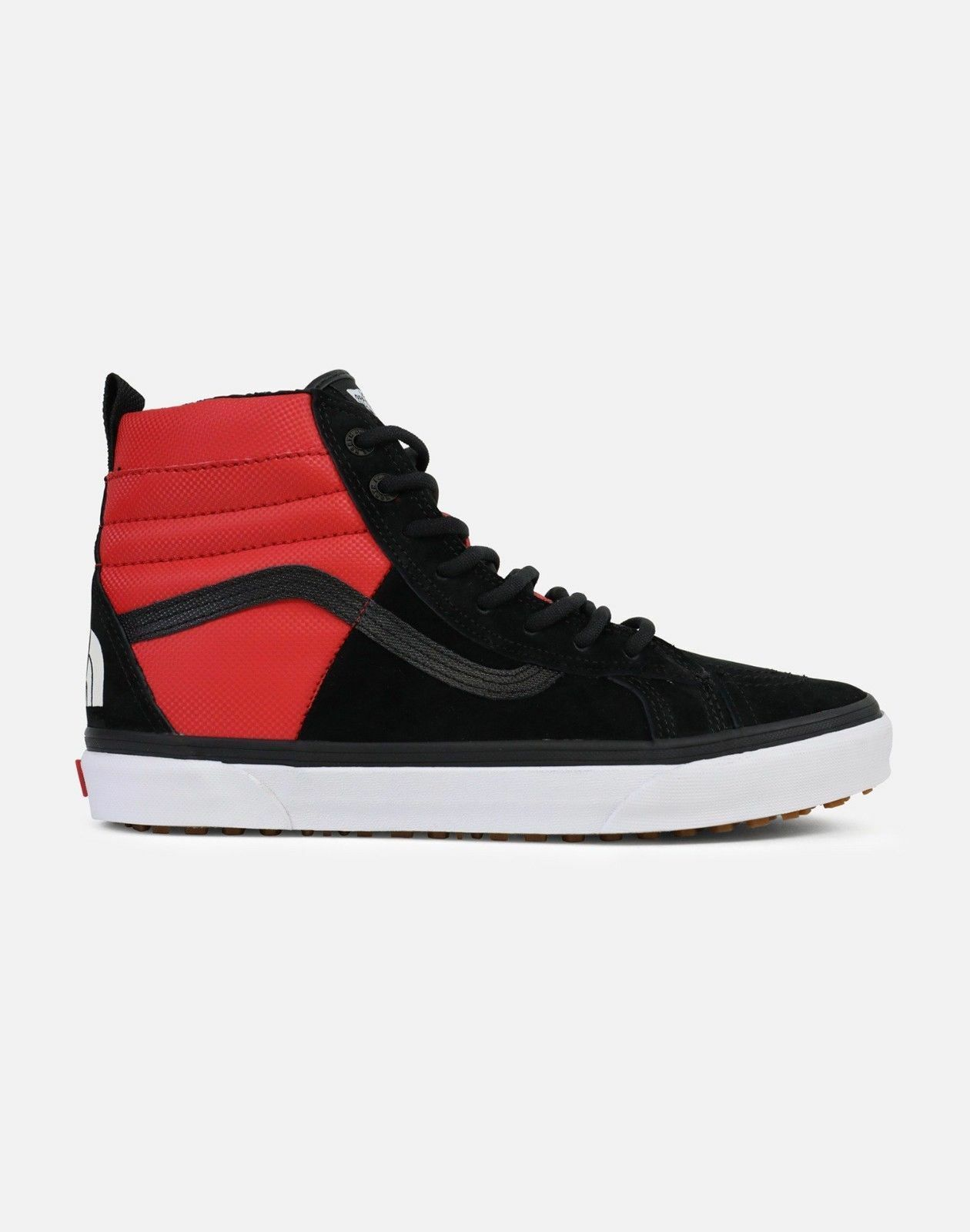 Vans North Face Sk8-Hi MTE DX Black Red White VN0A3DQ5QWS men size 7.5-13