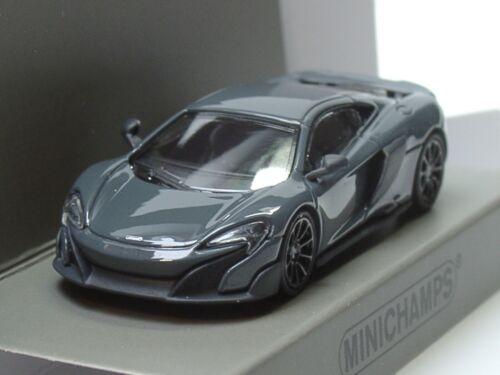 870 154420-1:87 Minichamps McLaren 675 LT Coupe grau