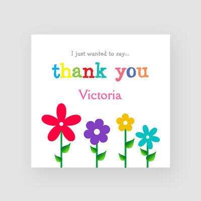 Mum Daughter Sister Personalised Handmade Flowers Birthday Card For Her