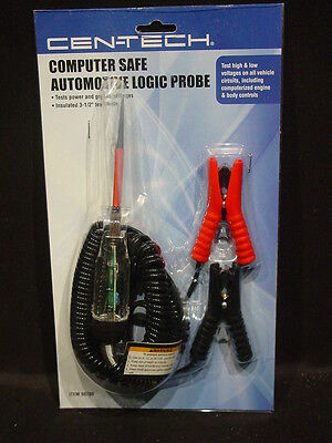 Computer Safe Automotive Logic Probe Circuit Voltage Tester 6 12 24 Volt Systems