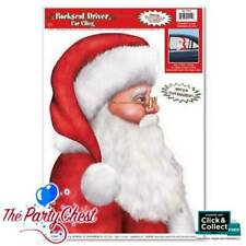Fun Frosty SNOWMAN BACKSEAT DRIVER CAR CLING Holiday Christmas Window Decoration