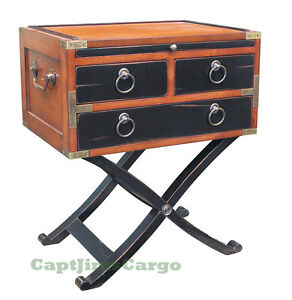 Image Is Loading Bombay Box End Table 26 034 Nautical Military