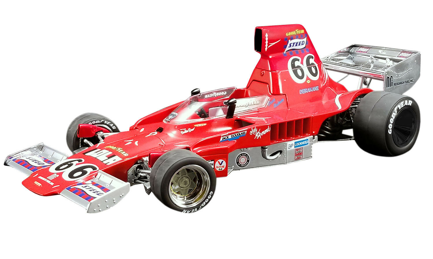 Steed T332  66 Brian rougeMAN 1974 F5000 Champion limited 300 pcs 1 18 ACME A1802001