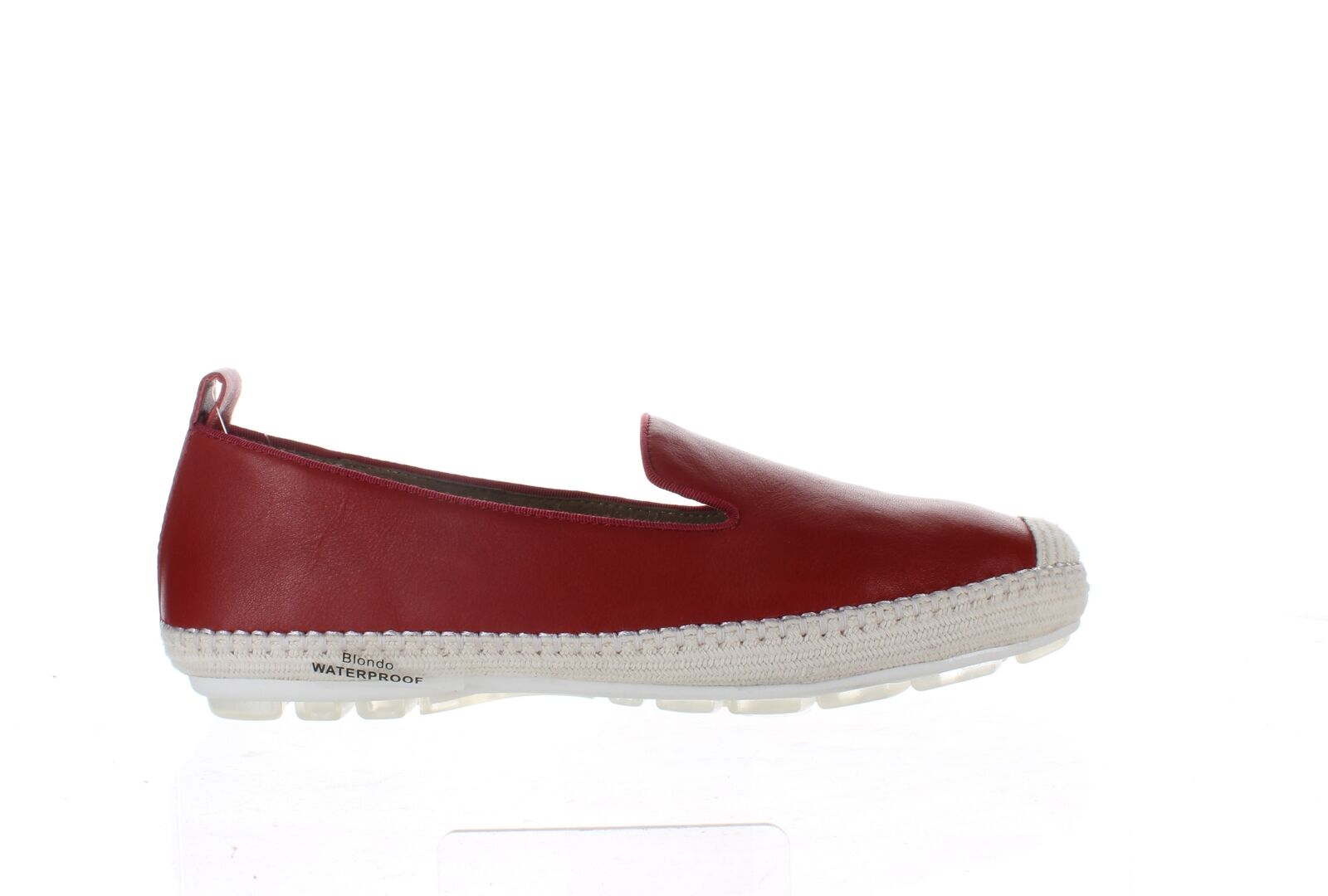 Blondo Womens Bella Red Leather Casual Flats Size 8.5 (1975424)