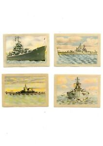 JACQUES CHOCOLATE, BELGIUM - 16 NAVAL SHIPPING CARDS  - SCARCE ITEM