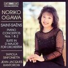 Piano Concertos Nos. 1 and 2 Ogawa Tapiola Sinfonietta 7318590010402 CD