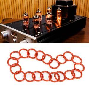 20Pcs-Tube-Damper-Silicone-Gel-O-Rings-Fit-For-12AX7-12AU7-12AT7-12BH7-EL84