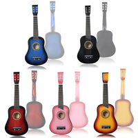 "Goplus 25"" Beginners Kids Acoustic Guitar 6 String with Pick Children Kids Gift"