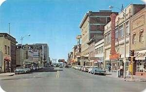 Casper Wying Business District Street View Vintage Postcard ...