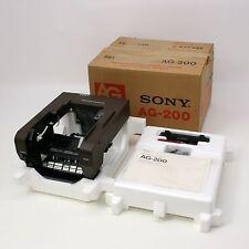 Vtg Sony AG-200 Beta-max Video Cassette Tape Auto Changer AG Made in Japan