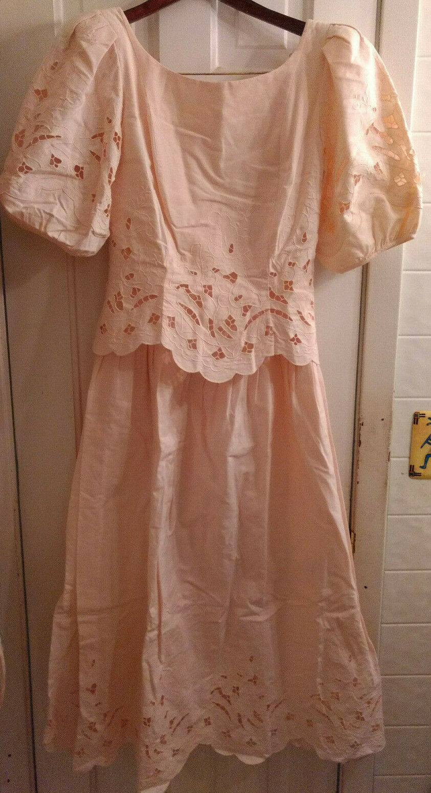 Vintage Marie St Claire 100% Cotton Embroidered C… - image 1