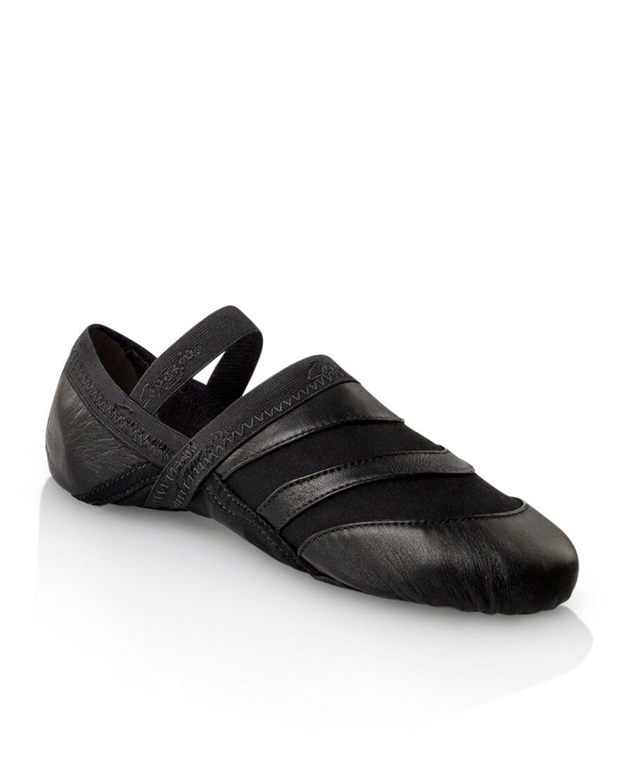 Capezio Frontline Dance Sneakers Adult JS03 Black New In Box
