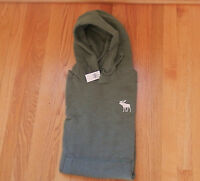 Men Abercrombie & Fitch Blue Mountain Hoodie Olive Medium By Hollister