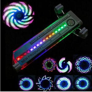 4er Set Ventilkappen LED Speichenlicht Auto Bike Fahrrad Rad Licht Ventil Wheel