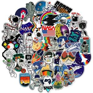 50-Unique-Astronaut-Space-Cartoon-Stickers-for-suitcase-bags-and-a-lot-more