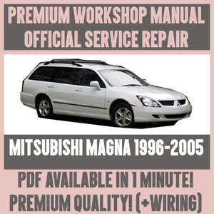 mitsubishi magna workshop manual pdf