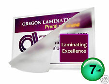 7 Mil School ID Card Hot Laminating Pouches 2-1/2 x 3-5/8 (100) Clear OregonLam