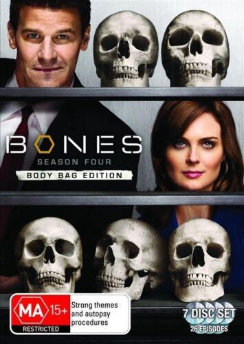 1 of 1 - Bones : Season 4 (DVD, 2009, 6-Disc Set)