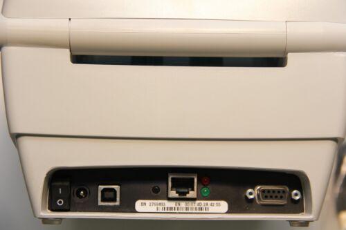 Label Thermal Printer USB Ethernet Network 284Z-10400-0001 Zebra TLP 2844-Z