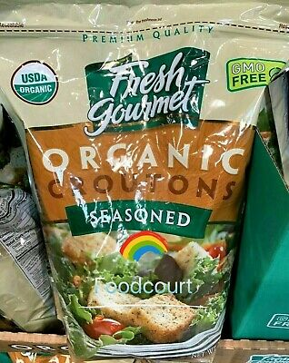 Fresh Gourmet Organic Seasoned Croutons 32 Oz 787359748721 Ebay