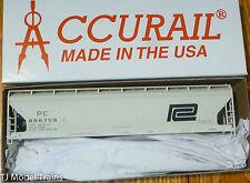 Accurail HO #2100 (Rd #886759) Penn Central (3-Bay ACF Cov'd Hopper) Kit