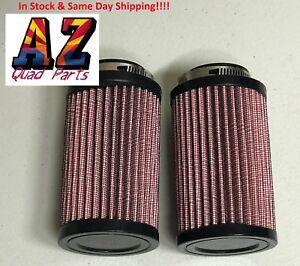 Yamaha-Banshee-YFZ-350-K-amp-N-Style-Air-Pod-Filters-Filter-Pair-Stock-Carbs-26mm-KN