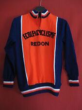 Maillot cycliste enfant Ecole de cyclisme REDON Vintage 70'S Vintage - 12 ans