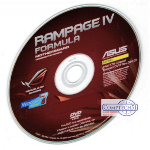ASUS RAMPAGE IV FORMULA MOTHERBOARD DRIVERS M1883 WIN 7 8 8.1 10 DUAL