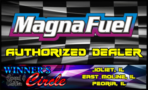 Magnafuel MP-7009 Fuel Filter In-Line 74 Micron 10AN Female O-Ring In//Out Black