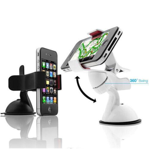 1 of 1 - 360°Rotation Car Holder Mount Windshield Bracket for GPS Mobile Phone