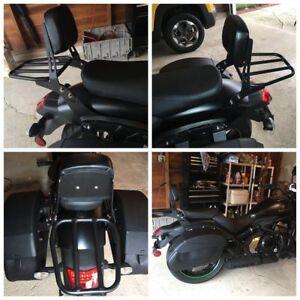 Black-Sissy-Bar-Backrest-Luggage-Rack-for-Kawasaki-Vulcan-S-650-EN650-2015-2018