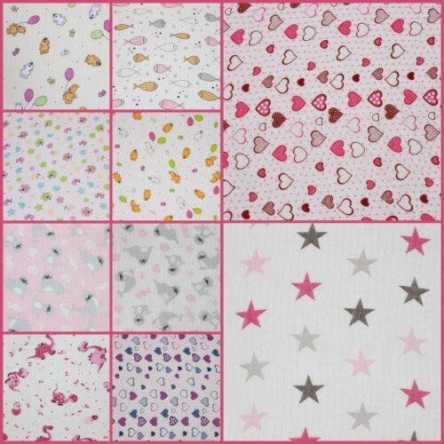 27.5x31.5inch 100/% Cotton 1-10pcs Beautiful Baby Girl Muslin Squares 70x80cm