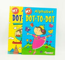 1x A4 Kids Dot To Dot Puzzle Book School Child Activity Children Kids Colouring