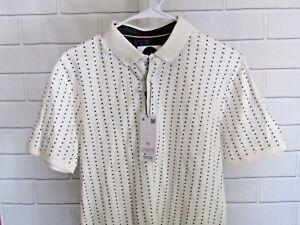 cb46007715 Denim   Flower Ricky Singh Men s Size S Short Sleeve Pullover Polo ...