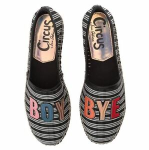 new style 50% off various colors Details about Sam Edelman Circus Womens Shoes BOY BYE Espadrille 6 6.5 7  7.5 8 8.5 Canvas, New