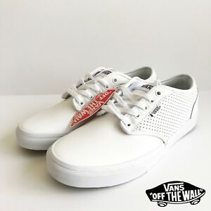 VANS OFF THE Wall Classic Homme Baskets Cuir Size 8.5 Neuf