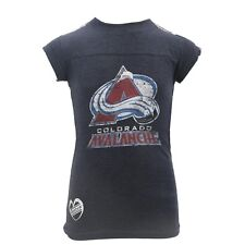 "Reebok NHL Youth Colorado Avalanche /""Cross Sticks/"" Short Sleeve Graphic Tee"