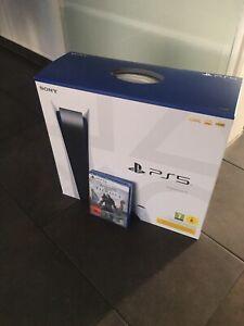 Sony PlayStation 5 PS5 Konsole - mit Laufwerk Disk Disc Edition Inkl Spiel NEU ✅