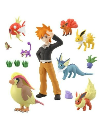 Green HGSS ver.  /& 10 pokémon Pokémon Scale World Kanto 2