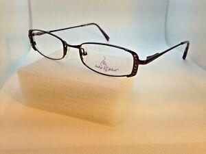 570fdf9014 Baby Phat Women s Lavender Rhinestones Designer Eyeglasses Frames 48 ...