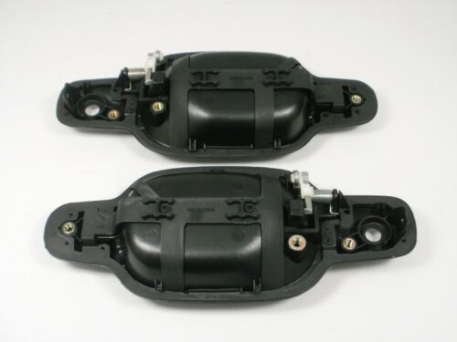 2004-2012 Chevy COLORADO GMC CANYON Outside Door Handle Pair L /& R FRONT BLACK