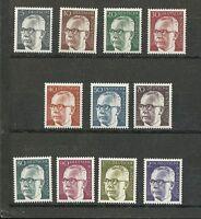 Deutsche Bundespost 1970: Freimarken - Bundespräsident Gustav Heinemann