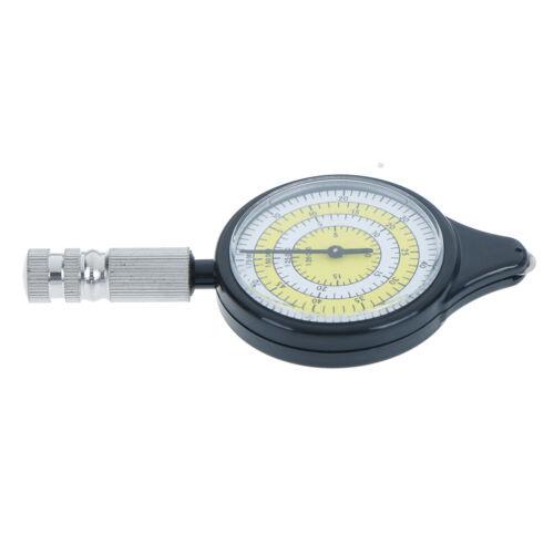 Outdoor Hiking Camping Map Measuring Gauge Range Finder Meter Scale Compass rp