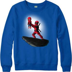 Deadpool-Jumper-Spiderman-Lion-King-Spoof-Marvel-Comics-Adult-and-kids-Sizes