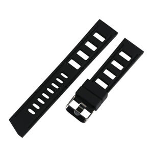 20-22mm-Silicone-Rubber-Watch-Band-Strap-Replacement-Bracelet-Spring-Bars